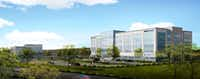 <p><p>The project&nbsp;near FM2499 and Northwood Drive will be Flower Mound's largest new office development.</p></p>(BOKA Powell)