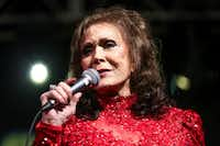 Country music legend Loretta Lynn was among the artists who played Panther Hall in Fort Worth.(Rich Fury/Rich Fury/Invision/AP)
