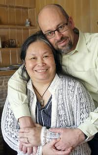 David and Thu-Lan Tran Andrews(Lawrence Jenkins/Special Contributor)