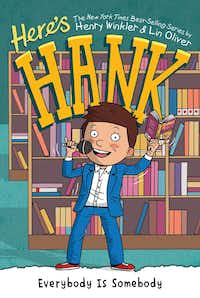 Henry Winkler's latest children's book, the 29th in a series, is <i>Here's Hank: Everybody is Somebody</i>.(Penguin)