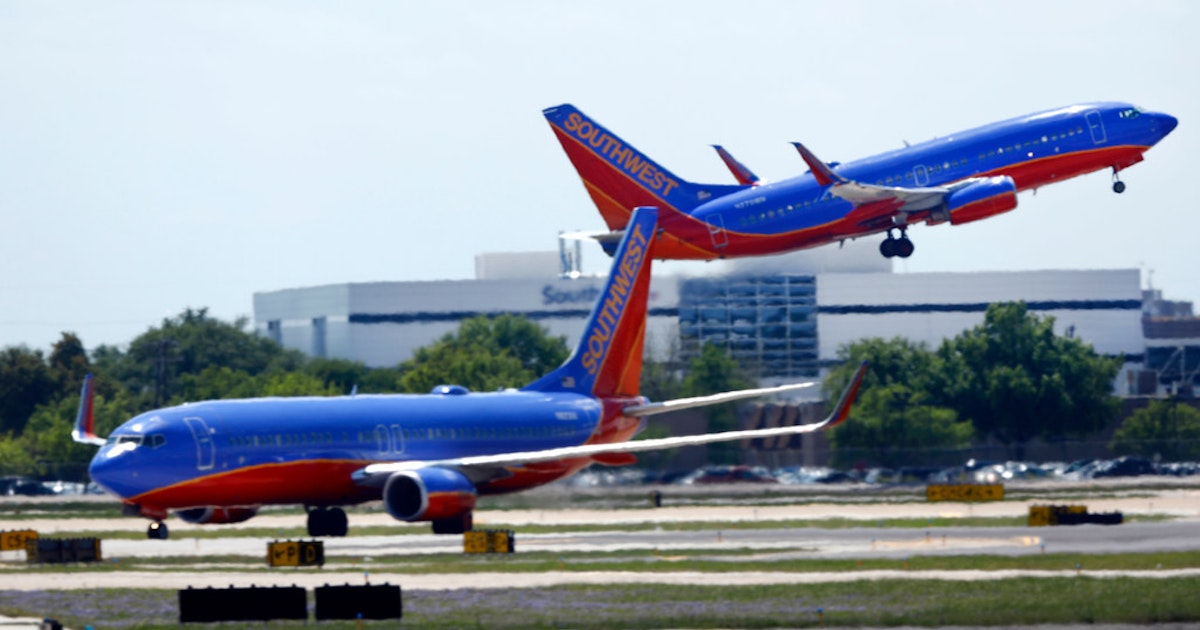 Southwest dropping nonstop flights from Dallas Love Field to OKC, San Francisco and Jacksonville...