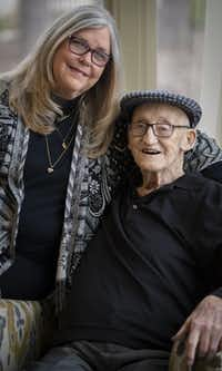 Carolyn Roney helped her father, Carroll Roney, make a second move for senior living after her mother's health worsened and the first community no longer met the couple's needs.(Robert W. Hart/Special Contributor)