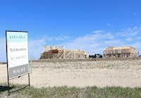 About 600 houses have been built in the Walsh Ranch development.(Kayla Stigall)