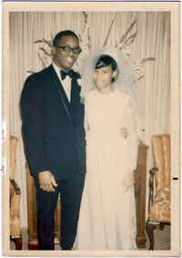 Wedding photo of Philip and Loretta Mays