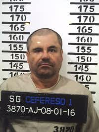 """Joaquin """"El Chapo"""" Guzman was convicted on all 10 charges against him.(AP)"""