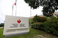American Heart Association 7272 Greenville Ave., Dallas.(Jae S. Lee/Staff Photographer)