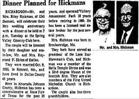 "<p><span style=""font-size: 1em; background-color: transparent;"">Riley Hickman operated Vickery Park until 1960.&nbsp;</span></p>(<i>The Dallas Morning News</i> archives)"