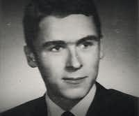 A young Ted Bundy, in a photo from Conversations with a Killer: The Ted Bundy Tapes.(Netflix)