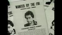 "A photo from <i>Conversations with a Killer: The Ted Bundy Tapes</i> shows a FBI ""Wanted"" poster for Bundy.(Netflix)"