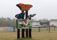 The entrance to the National Butterfly Center  in Mission, Texas.(Suzanne Cordeiro/Tribune News Service)