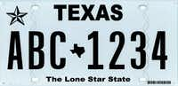 "Abbott says he's not fond of the ""Texas Classic"" license plate, introduced in 2012.(Courtesy of the Texas Department of Motor Vehicles)"