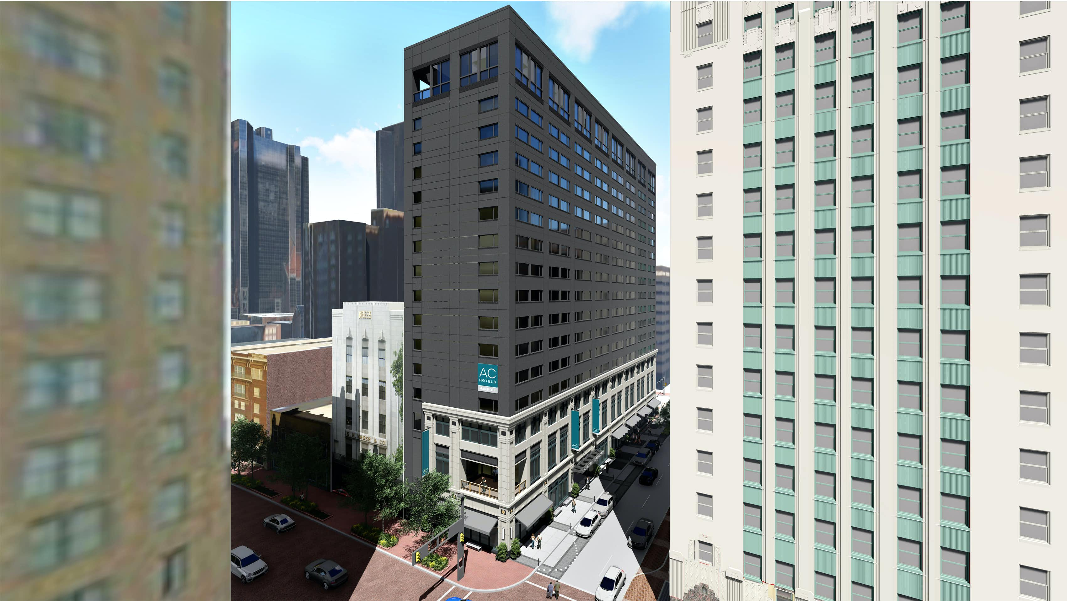 New hotel tower project starts in downtown Fort Worth