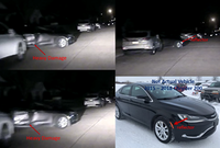 Police released surveillance images of a car that fled a home-invasion robbery in Mesquite on Thursday.(Mesquite Police Department)