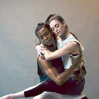 Damien Johnson and Emily Dixon Alba of Avant Chamber Ballet. (Will Graham/Special Contributor )