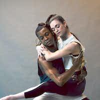 Damien Johnson and Emily Dixon Alba of Avant Chamber Ballet.(Will Graham/Special Contributor)