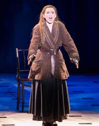 "Anya, played by Lila Coogan, sings ""In My Dreams.""(Daniel Carde/Staff Photographer)"