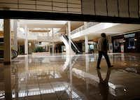 Built in the early 1980s, Collin Creek mall has been largely vacant.(Vernon Bryant/Staff Photographer)