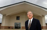 Dickie Amyx, pastor of the Bolivar Baptist Church in Sanger.(File photo)