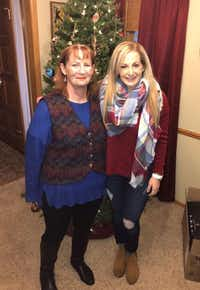 Kris Wieland, left, of Plano, pictured with daughter Anne, was denied coverage by her Medicare Part D plan for a drug that replenishes vaginal estrogen, prescribed by her doctor. (Kaiser Health News/Courtesy of Kris Wieland)