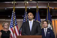 <p>Freshman Rep. Colin Allred, D-Dallas, is already drawing the attention of Republicans, who plan to make his seat a priority in the 2020 elections.</p>(Zach Gibson/Getty Images)