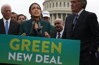 "A Republican super PAC has sought to tie Rep. Colin Allred, D-Dallas, to the ""Green New Deal"" proposal offered by new Rep. Alexandria Ocasio-Cortez, D-N.Y.(Alex Wong/TNS)"