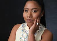 In this February photo, Yalitza Aparicio, nominated for an Oscar for best actress for her role in <i>Roma</i>, poses for a portrait at the 91st Academy Awards Nominees Luncheon in Beverly Hills, Calif. The Oscars will be held on Sunday.(Chris Pizzello/Chris Pizzello/Invision/AP)