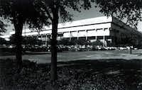 Dallas Apparel Mart circa 1990(The Dallas Morning News Archives)