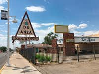The De Anza Motor Lodge sits along Route 66 in Albuquerque, N.M. It was listed in the <i>Green Book</i> as a safe place for black travelers to stay during segregated times.&nbsp;(2016 File Photo/The Associated Press)