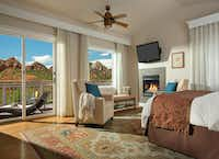 The luxurious L'Auberge de Sedona is among the lodging options in Sedona.(L'Auberge de Sedona)