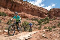 With more than 200 miles of trails snaking in and around the city, Sedona is a premier cycling destination.(Miguel A. Santana Photography/Over the Edge Sedona)
