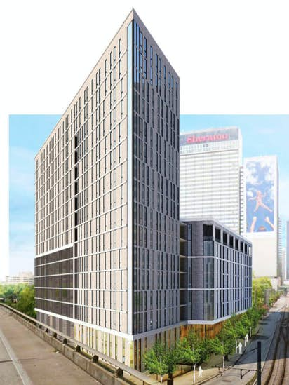 New Downtown Dallas Apartment High Rise Includes Affordable Units