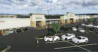 Fielder Plaza is anchored by a Tom Thumb supermarket.(Hodges & Associates)
