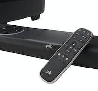 The remote for the Polk Command Bar.(Polk Audio)