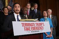 "<p><span style=""font-size: 1em; background-color: transparent;"">The House on Tuesday passed a resolution by Rep. Joaquin Castro, D-San Antonio, that would block President Donald Trump's national emergency over border security. (Photo by Chip Somodevilla/Getty Images)</span></p>(Chip Somodevilla/Getty Images)"
