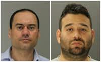 Ioannis Makris (left), James Villeda(Dallas County Sheriff's Department)