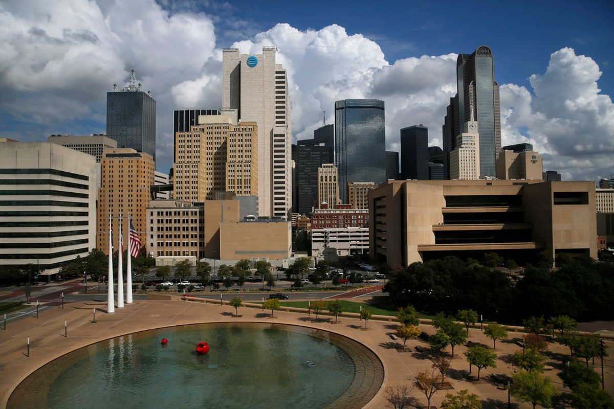 In Dallas, 83 percent of people in poverty are black or Hispanic, and that's actually an improvement