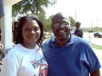 Trisha Allen (left) and Eugene Keahey(Trisha Allen)