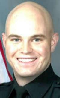 Nathan Heidelberg, 28, had served on the Midland force for five years.(Midland Police Department)