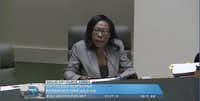 Dallas City Secretary Bilirae Johnson maintains that City Council member and mayoral candidate Scott Griggs physically threatened her in April 2015.(image from video/Dallascitynews.net)