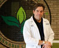 Morris Denton is CEO of Compassionate Cultivation, a state-licensed medical cannabis cultivator and dispensary. The company grows marijuana and produces CBD oil for patients as part of Texas' Compassionate Use Program.(Vernon Bryant/Staff Photographer)