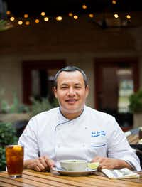 Chef Nico Sanchez of Meso Maya(Ashley Landis/Staff Photographer)