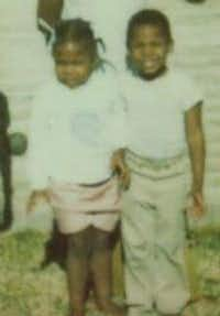Sheila Prater (left) and Brother June Prater were inseparable as children, Brother Prater said.(Brother June Prater)