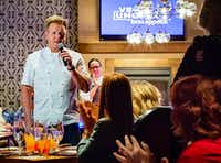 If you've ever wanted to meet celebrity chef Gordon Ramsay, Uncork'd by <i>Bon Appetit</i> gives you plenty of opportunities, including a Master Series dinner.(Michael Hiller/Special Contributor)