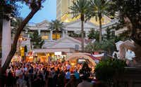 The Grand Tasting at Caesars Palace is one of Uncork'd by <i>Bon Appetit</i>'s signature culinary events.(Michael Hiller/Special Contributor)