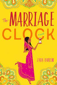 Zara Raheem's <i>The Marriage Clock</i>, due out in July, follows a Muslim-American woman whose parents give her a three-month ultimatum to find the right husband before they take matters into their own hands.(William Morrow)