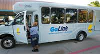 DART already offers an on-demand option called GoLink in some areas with limited transit. Uber will boost that service and allow DART to meet its goal of picking up riders within 10 minutes.(Louis DeLuca/Staff Photographer)