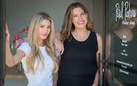 "<p>Ali Pickens (left) and Giselle Ruggeberg <span style=""font-size: 1em; background-color: transparent;"">run a gift shop called Jade & Clover in addition to their Petal Pushers flower shop. Pickens likes to say entrepreneurship runs in the family, passed down from her grandfather, energy magnate T. Boone Pickens.</span></p>(Robert W. Hart/Special Contributor)"