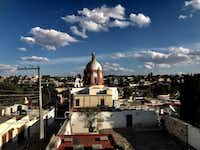 Mexicans point to the beauty of their hometowns, like Pozos, shown here the week of Jan. 22, 2019, and say that is more alluring than heading north to a country that doesn't value their contributions.(Alfredo Corchado/Staff Photo)
