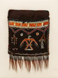 This shoulder bag is part of the New York City museum's exhibit on American Indian art.(Bruce Schwarz/The Metropolitan Museum of Art/The Associated Press)