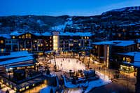 The chic $600 million base village that opened in mid-December is already transforming Snowmass.(Matt Hobbs/Snowmass)